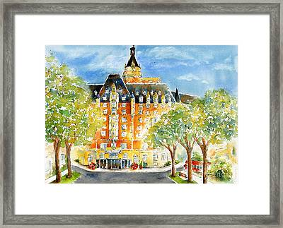 The Bess Framed Print