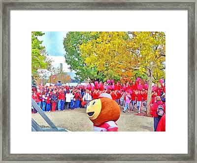The Best Damn Band In The Land Arrives Framed Print by Digital Photographic Arts