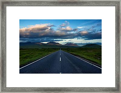Framed Print featuring the photograph The Best Drive...ever... by Stephen Taylor
