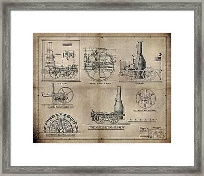 The Best Friend Locomotive Machine Framed Print