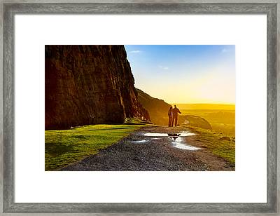 The Best Is Yet To Be - Edinburgh Framed Print by Mark E Tisdale