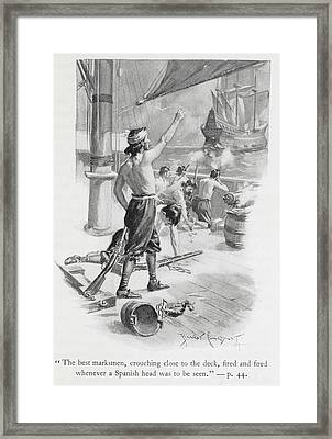 The Best Marksmen Framed Print by British Library