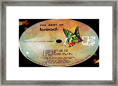 The Best Of Bread Side 1 Framed Print by Marcello Cicchini