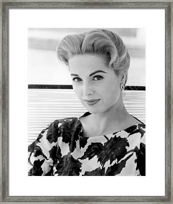The Best Of Everything, Martha Hyer Framed Print by Everett