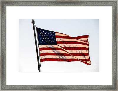 The Best Of Old Glory Framed Print