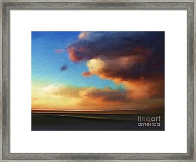 Framed Print featuring the painting The Best Of The West by S G