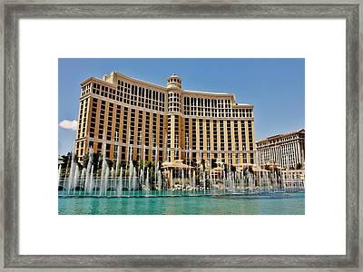 The Best Of Vegas Framed Print