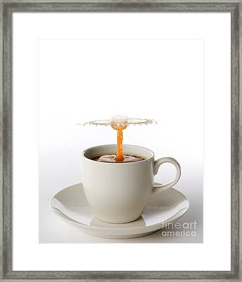 The Best Part Of Waking Up Framed Print