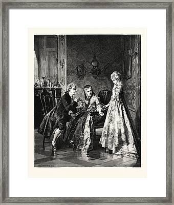 The Betrothal Framed Print