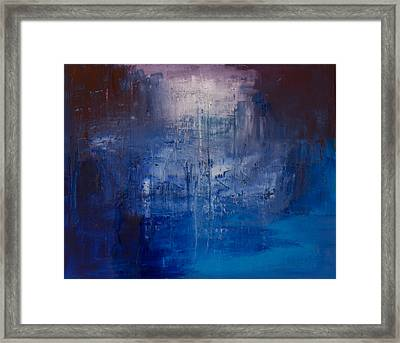 The Between Framed Print by Robert Horvath