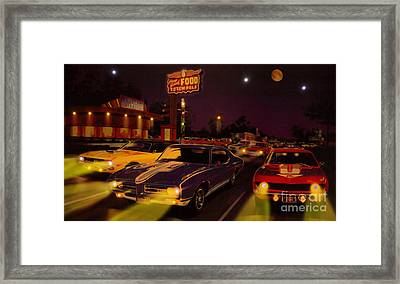 The Big 3 Street Racing Framed Print by Al Bourassa