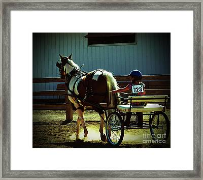 Framed Print featuring the photograph The Big And The Tiny by Gena Weiser