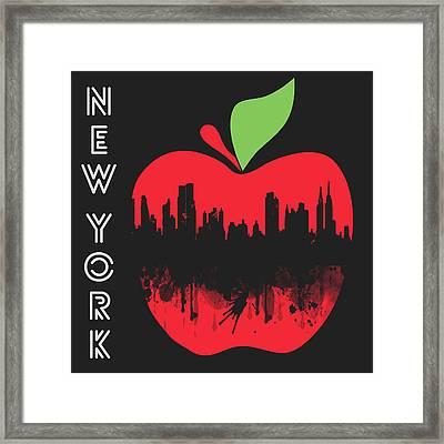 the Big Apple Framed Print by Mark Ashkenazi