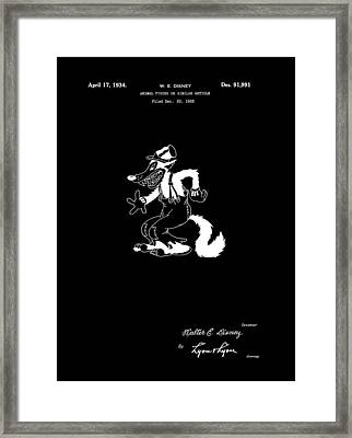 The Big Bad Wolf Framed Print by Dan Sproul