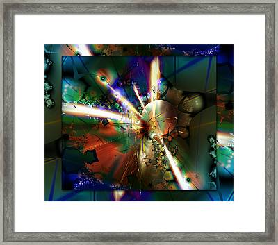 The Big Bang Framed Print by Robin Curtiss