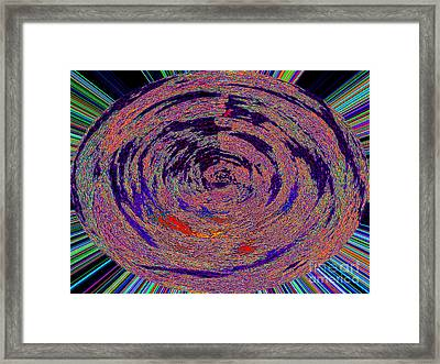 The Big Bang's Orbits And Rays Framed Print