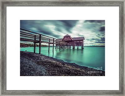 The Big Bath House Framed Print