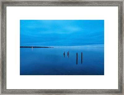 The Big Blue Framed Print by Donnie Smith