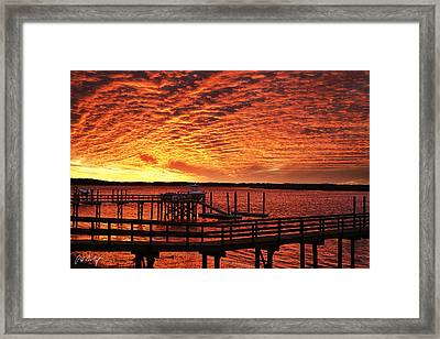The Big Chill Arrives Framed Print by Phill Doherty