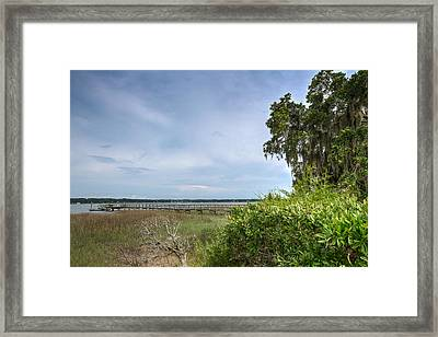 The Big Chill Framed Print by Walt  Baker