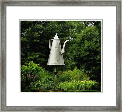 The Big Coffee Pot Framed Print