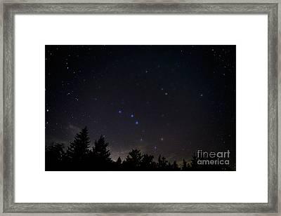 The Big Dipper Cranberry Wilderness Framed Print