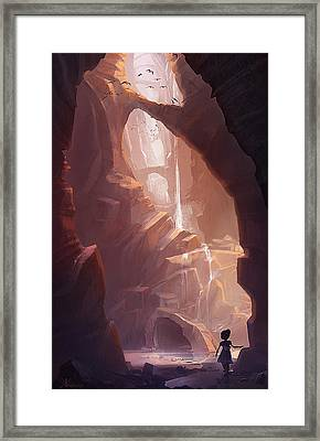 The Big Friendly Giant Framed Print by Kristina Vardazaryan