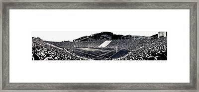 The Big Game 1919 Framed Print by Benjamin Yeager