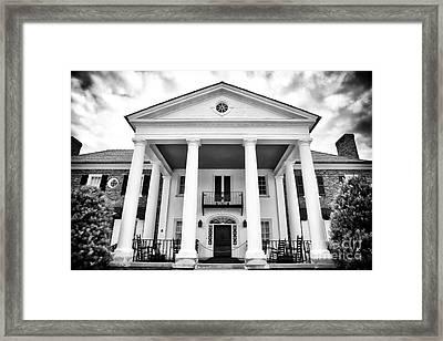 The Big House Framed Print by John Rizzuto