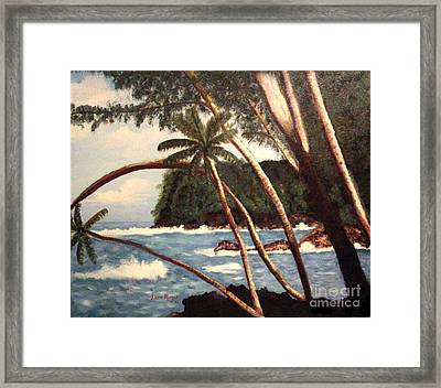 The Big Island Framed Print