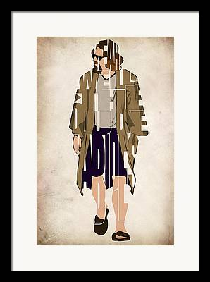 The Big Lebowski Framed Prints