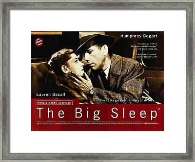 The Big Sleep  Framed Print