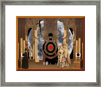 the Big Stage  c2014 Framed Print by Paul Ashby