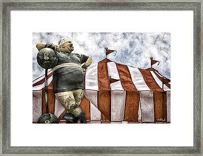 The Big Top Framed Print by Doctor Sid