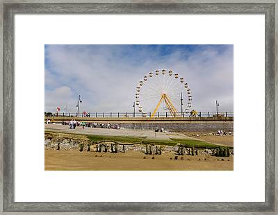 The Big Wheel And Promenade, Tramore Framed Print by Panoramic Images