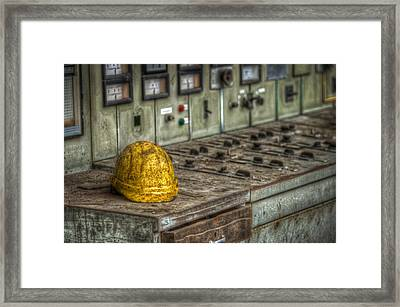 The Big Yellow Hat Framed Print