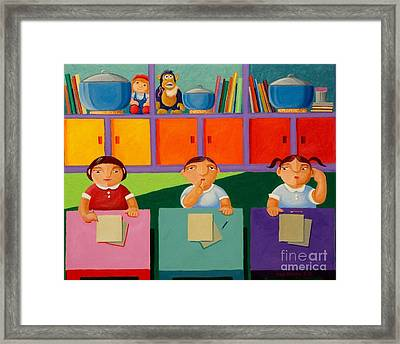 The Bigger Rice Pot Framed Print by Paul Hilario