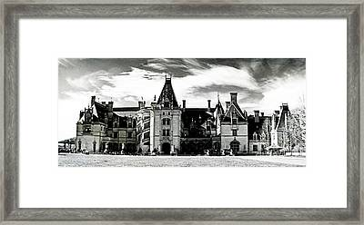 The Biltmore Estate 2 Framed Print by Luther Fine Art