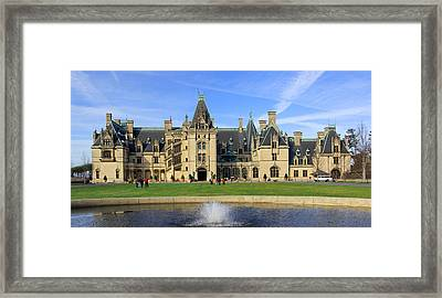 The Biltmore Estate - Asheville North Carolina Framed Print