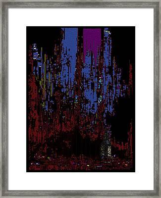 The Binge Framed Print by Tim Allen