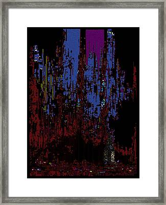 The Binge Framed Print