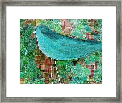 The Bird - 23a1c2 Framed Print