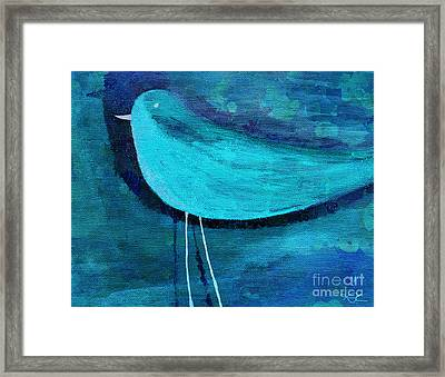 The Bird - Bl07a Framed Print by Variance Collections