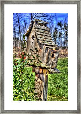 The Bird House Framed Print