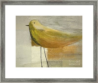 The Bird - J100124164-c23a Framed Print by Variance Collections