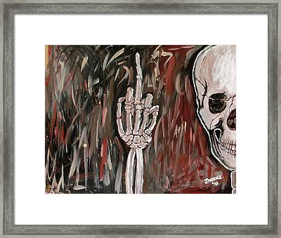 The Bird Framed Print by Jeremy Moore