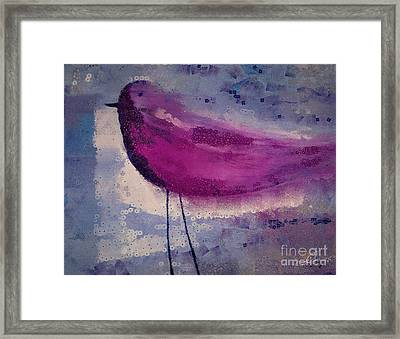 The Bird - K09144 Framed Print by Variance Collections