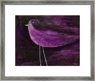 The Bird - S55prmd01t03 Framed Print