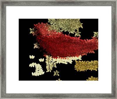 The Bird - V1102b02 Framed Print