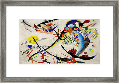 The Bird Framed Print by Wassily Kandinsky